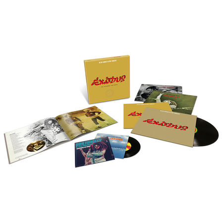 Bob Marley and The Wailers: Exodus 40 - The Movement Continues (4LP + 2 x 7 + Book)