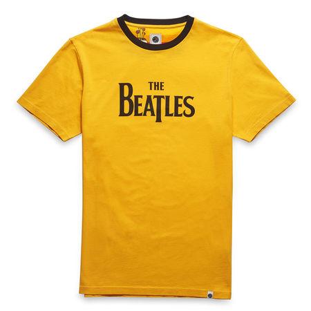 The Beatles: Yellow Submarine Print T-Shirt Yellow