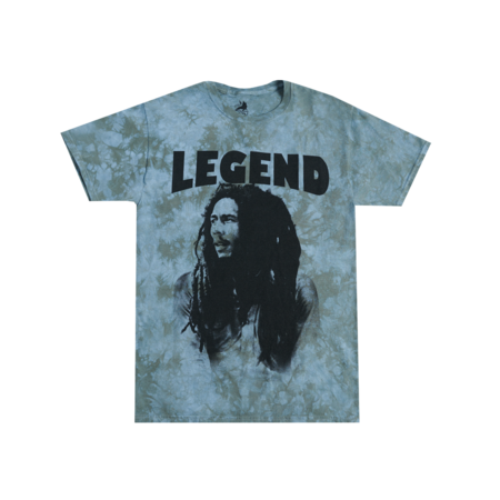 Bob Marley: Legend Multi Grey T-Shirt