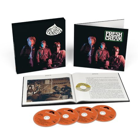Cream: Fresh Cream (Deluxe 3 CD + Blu Ray)