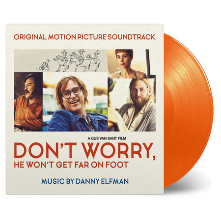Original Soundtrack: Don't Worry He Won't Get Far On Foot Orange Numbered Vinyl