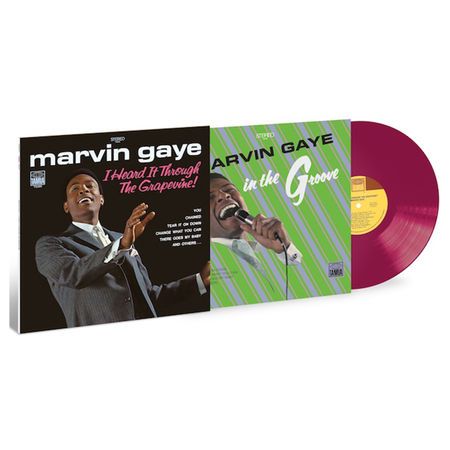 Marvin Gaye: I Heard It Through The Grapevine (LP) (Purple 'Grape')