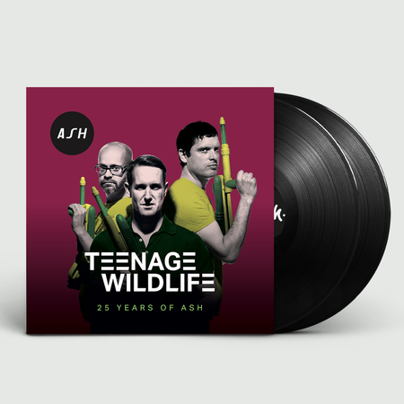 Ash: Teenage Wildlife [25 Years of ASH]: Signed Limited Edition Lenticular Double Vinyl