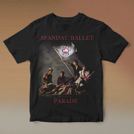 Spandau Ballet: Parade Anniversary T-Shirt