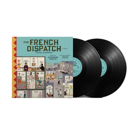 Official Soundtrack: Wes Anderson'sThe French Dispatch