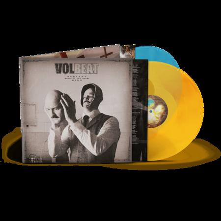 Volbeat: Servants Of The Mind Ltd 2LP Orange / Blue