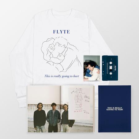 Flyte: Signed CD Book, Cassette + Embrace Longsleeve