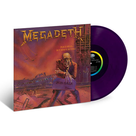 Megadeth: Peace Sells...But Who's Buying - Translucent Purple Vinyl