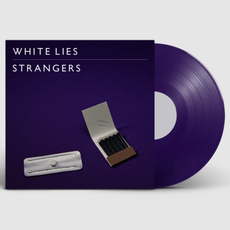 White Lies: Strangers Purple Vinyl