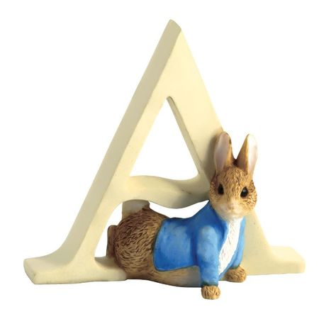 Peter Rabbit: Alphabet Letter A - Peter Rabbit