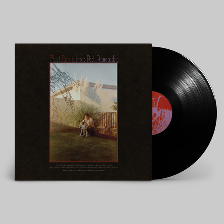 Fruit Bats: The Pet Parade: Black Vinyl + Signed 12x8