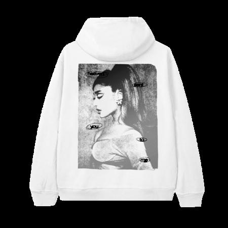 Ariana Grande: HEAVEN SENT YOU TO ME ZIP UP HOODIE