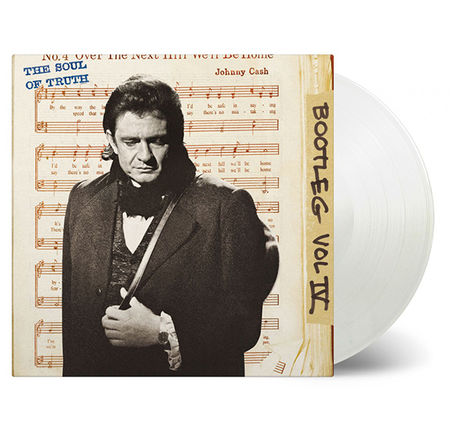Johnny Cash: Bootleg Volume 4: The Soul of Truth: Limited Edition Transparent Vinyl