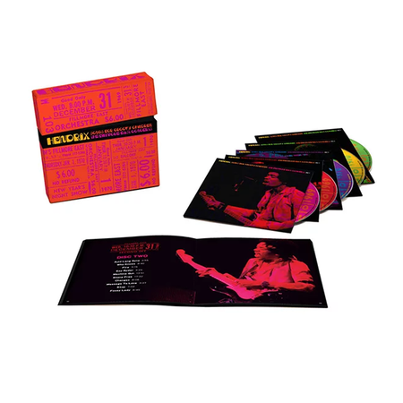 Jimi Hendrix: Songs For Groovy Children: The Fillmore East Concerts