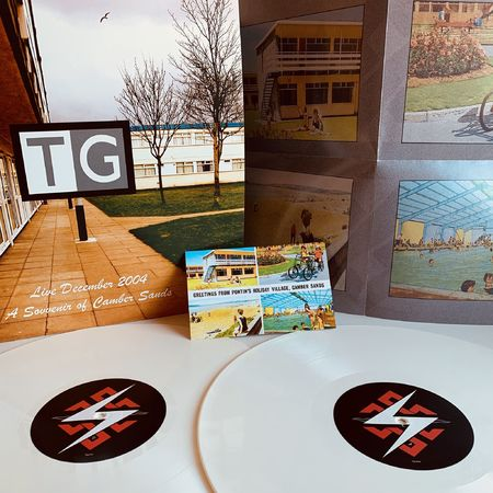 Throbbing Gristle: A Souvenir Of Camber Sands: Limited Edition Double White Vinyl