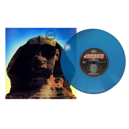 Kiss: Hot In The Shade (Blue LP)