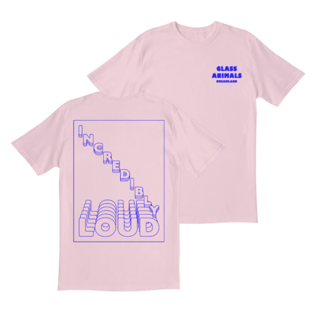 Glass Animals: INCREDIBLY LOUD PINK T-SHIRT