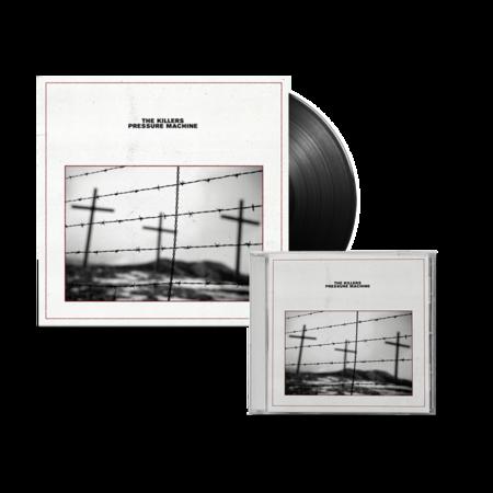 The Killers: Pressure Machine: Vinyl LP and CD Bundle + Signed Art Card