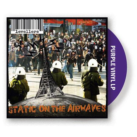 Levellers: Static on the Airwaves: Purple Vinyl