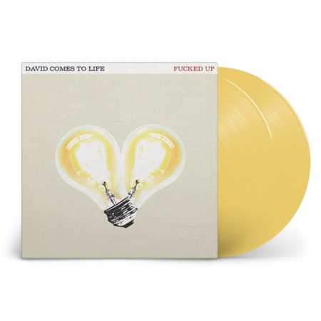 Fucked Up: David Comes to Life: Limited Edition Lightbulb Yellow Vinyl