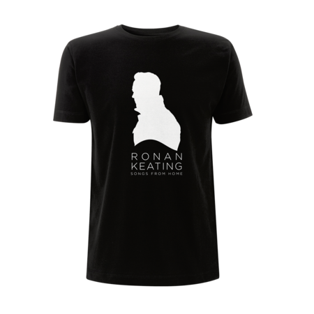 Ronan Keating: Songs From Home Silhouette Black T-Shirt