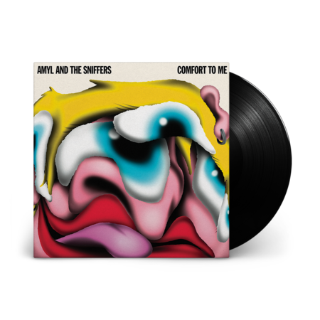 Amyl and the Sniffers: Comfort To Me: Black Vinyl LP + Signed Art Print