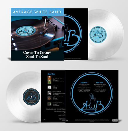 Average White Band: Cover To Cover / Soul To Soul: Limited Edition Clear Vinyl