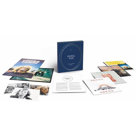 Popol Vuh: Vol. 2 – Acoustic & Ambient Spheres : Boxset - 4LP, Prints & Posters