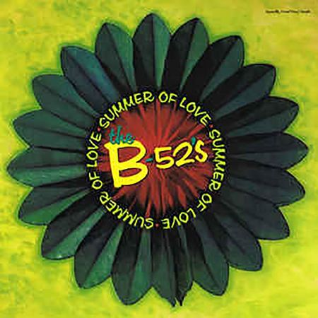 """The B-52's: Summer of Love 12"""" Red Coloured Vinyl"""