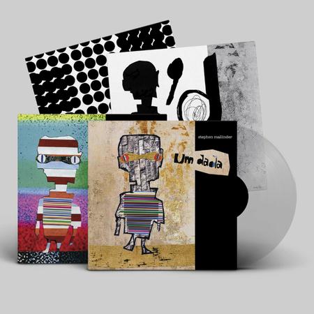 Stephen Mallinder: Um Dada: Signed Limited Edition Clear Vinyl