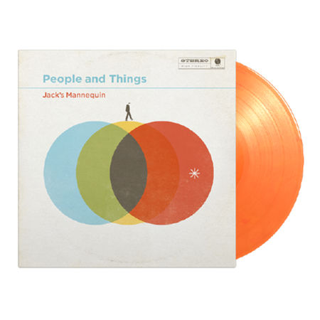 Jack's Mannequin: People and Things: Limited Edition Orange Vinyl