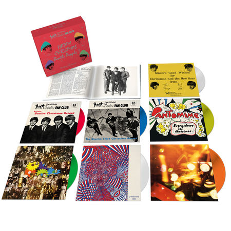 The Beatles: The Beatles Christmas Record Box