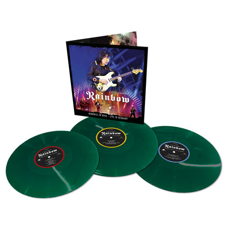 Ritchie Blackmore's Rainbow: Memories In Rock - Live In Germany: Limited Edition Triple Green Vinyl