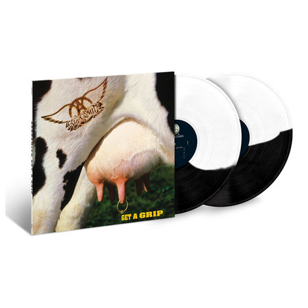 Aerosmith: Get A Grip: Exclusive Split Black + White Vinyl