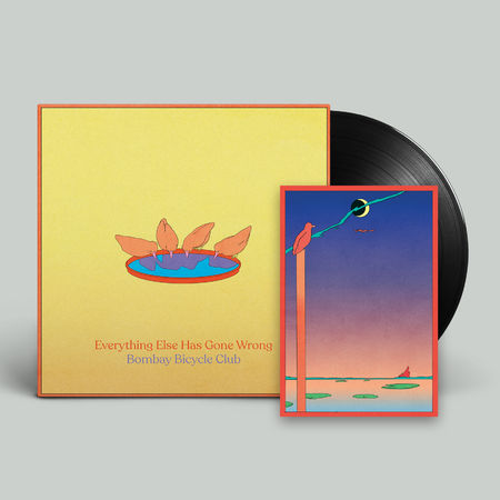 Bombay Bicycle Club: Everything Else Has Gone Wrong: Signed Black Vinyl + Poster