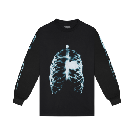 Post Malone: SKELETON X-RAY L/S
