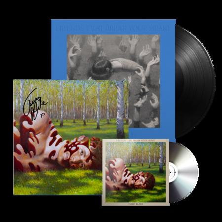James Blake: CD + VINYL + SIGNED LITHO