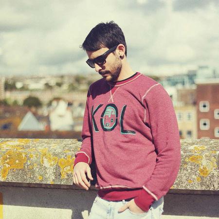 Kings Of Leon: KOL Burgundy Sweatshirt