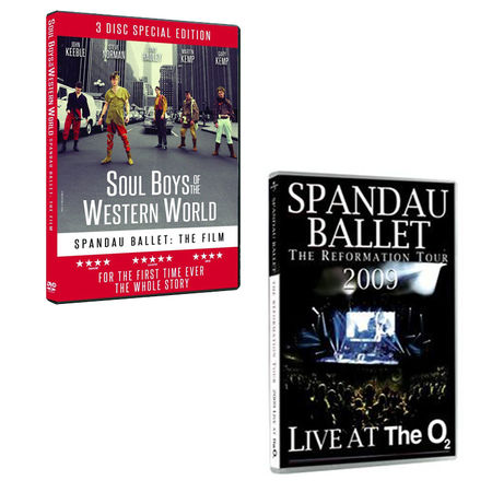 Spandau Ballet: Soul Boys Of The Western World & Live At The O2 DVD Bundle