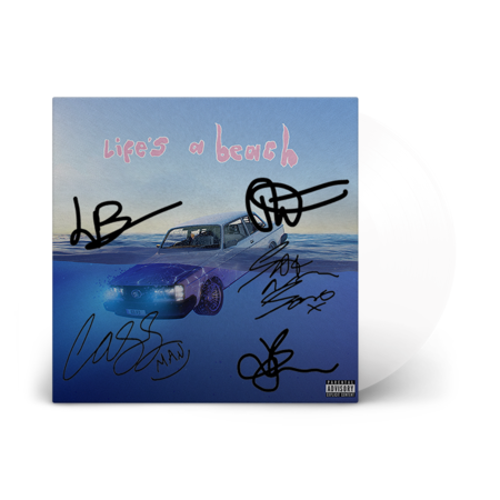 Easy Life: life's a beach: signed recordstore exclusive white vinyl lp