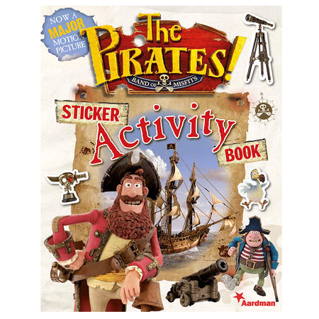 Pirates: The Pirates! In an Adventure with Scientists Sticker Activity Book.