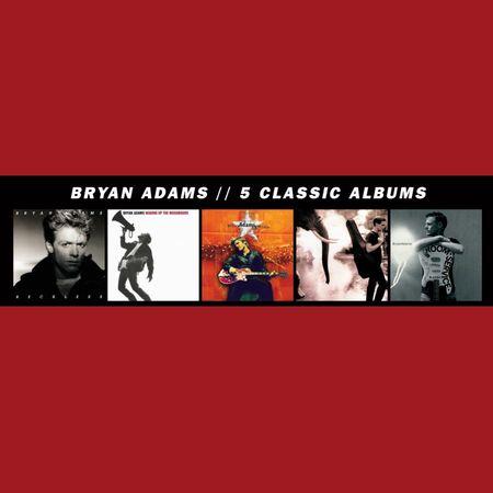 Bryan Adams: 5 Classic Albums (5CD)