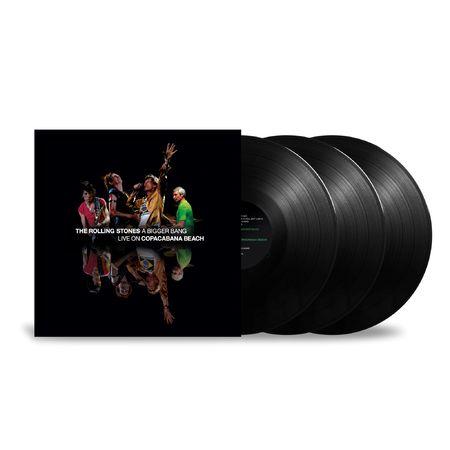 The Rolling Stones: 'A Bigger Bang' Live On Copacabana Beach: Black Vinyl 3LP