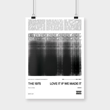 The 1975: Love It If We Made It Art Print