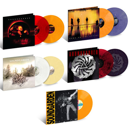 Soundgarden: Soundgarden 35th Anniversary Vinyl Bundle