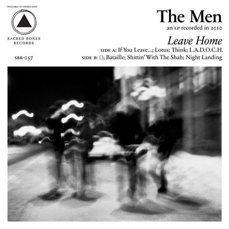 The Men: Leave Home: Anniversary Edition – Clear Vinyl