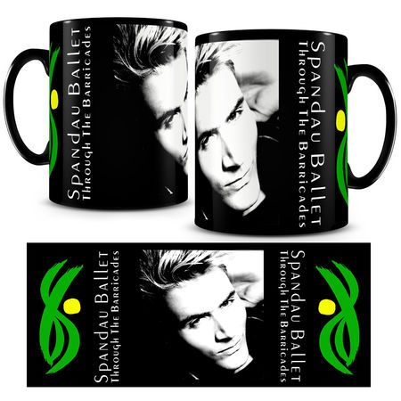 Spandau Ballet: Iconic Photo Mug 'Steve'