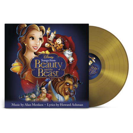 Original Soundtrack: Songs from Beauty and the Beast: Exclusive Gold Vinyl