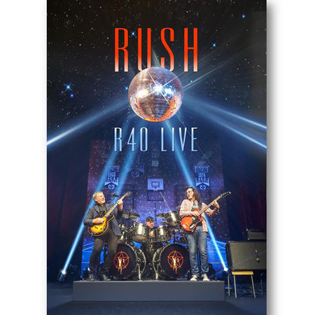 Rush: R40 Live (3CD + 1 BLU-RAY)