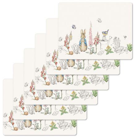 Peter Rabbit: Peter Rabbit Classic Tablemats (Set of 6)